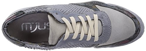 Donna Mjus Sneaker Blu zinco blau Basse 7064 6602 602101 CawRqaXT