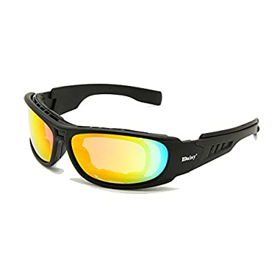 Daisy C6 Polarized Ballstic Army Sunglasses Rx Insert Military Tactical Goggles