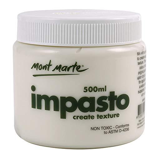 (Mont Marte Impasto Acrylic Medium 500ml (17oz))