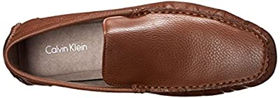 Calvin Klein Men's Deauville Loafer,Whiskey,8.5 M US