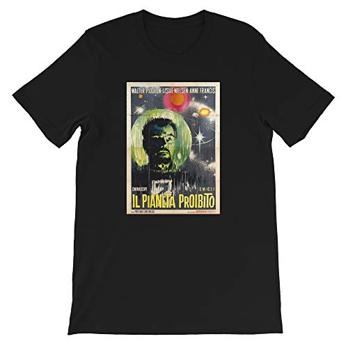 Planet Hollywood Halloween (MOVIETEE Forbidden 50s Movie Planet American Science Fiction Film Hollywood Cinema Gift Mens Womens Unisex T-Shirt)