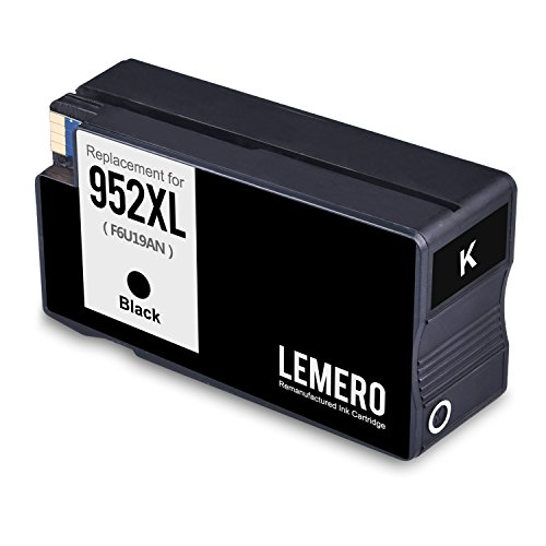 Lemero Replacement for 952XL Remanufactured Ink Cartridge ( 1 Set + 1 Black ) Compatible with Officejet pro 8210 8710 8715 8720 8725 8730 8740 series printer Photo #5