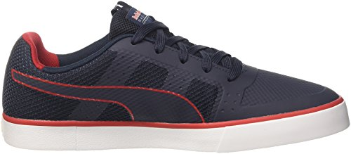 Puma Rbr Wings Vulc - Zapatillas Unisex adulto Azul (Total Eclipse-puma White-chinese Red 01)