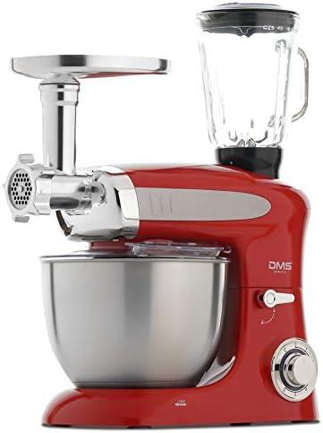 3 in1 Küchenmaschine StandMixer Ice Crusher Fleischwolf 9 L 2200W Schwarz DMS®