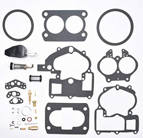 Autu Parts Repair Rebuild Carburetor Kit For Mercruiser Mercury Marine 3.0L 4.3L 5.0L 5.7L with 3302-804844002# 1389-9562A1 1389-9563A1 1389-9564A1 1389-9670A2 1389-806077A2 - Kit Part Rebuild