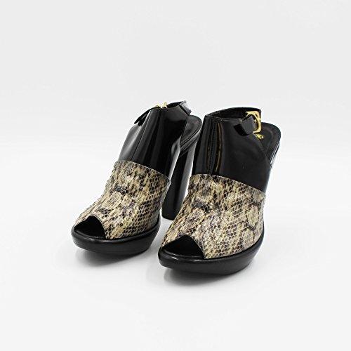 Nero 37 Sandalo Leopardato P Rocco qwtX4ISx