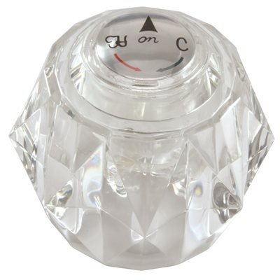 ProPlus Crystal Tub Handle for Delta-133098 by ProPlus (Image #1)