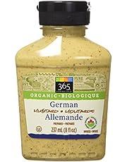365 Everyday Value Organic German Mustard, 8 oz