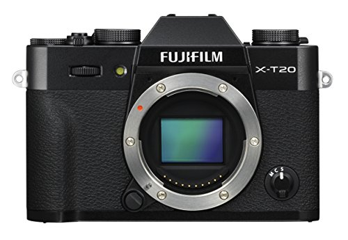 Fujifilm X-T20 Mirrorless Digital Camera, Black (Body Only)