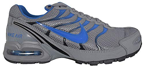 Air Shox Max (Nike Mens AIR MAX Torch 4, Cool Grey/Military Blue-Black, 12 D(M) US)