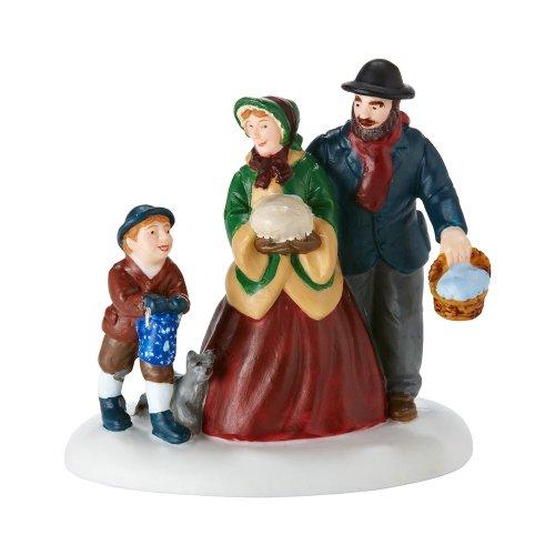 Department 56 New England Village Green Bean Casserole and Pumpkin Accessory Figurine, 20.5 inch
