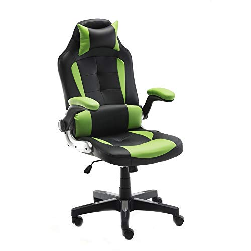 ALEKO ALC6128GNBK Ergonomic Reclining High-Back Office/Gaming Chair