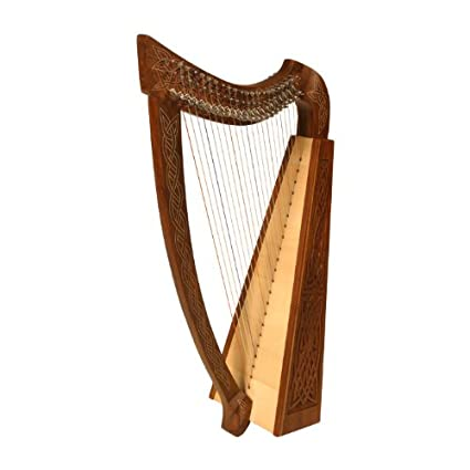 Heather Harp (Knotwork) w/ FREE Learn to Play Book