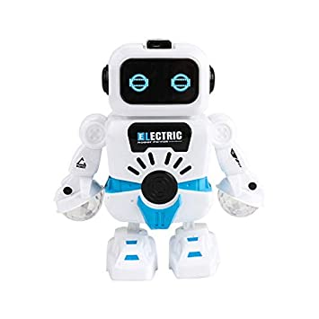 Fun Dancing Robot Electronic Toy with Music Lighting Toys Gift for Kids Children