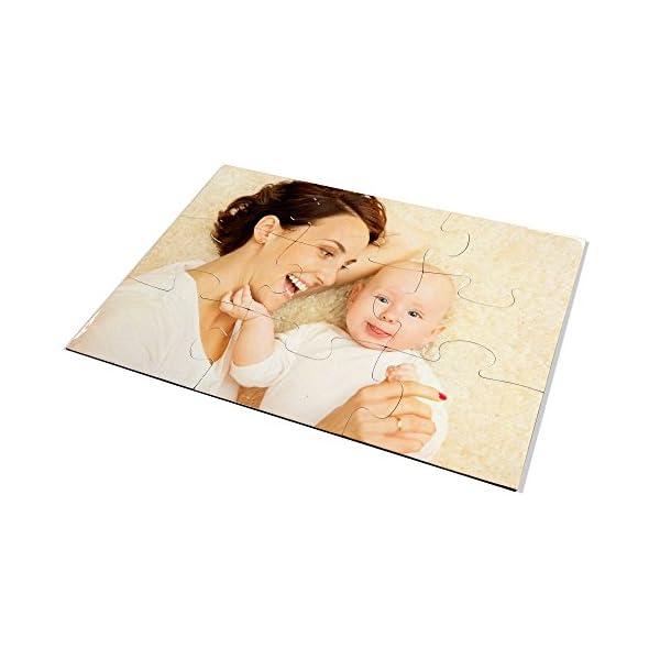 LolaPix Puzzle Bebe Personalizado. Personaliza con tu Foto. Puzzle Cartón Acabado Brillante. Varios tamaños. 9 Piezas 2