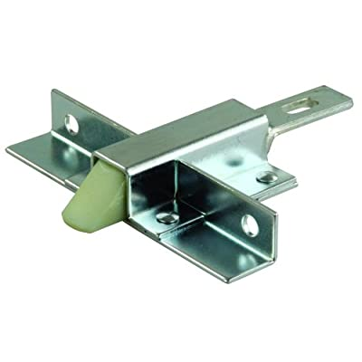 JR Products 11715 Offset Mount Compartment Door Trigger Latch: Automotive [5Bkhe1501330]