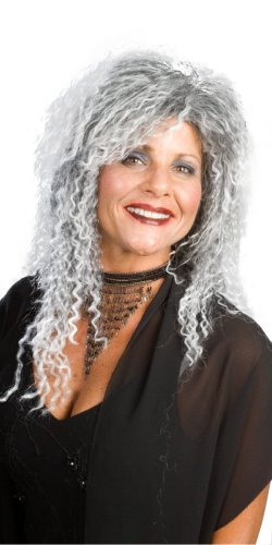 Enigma Wigs Women's Adam Family Grandma, Mixed Grey, One Size]()