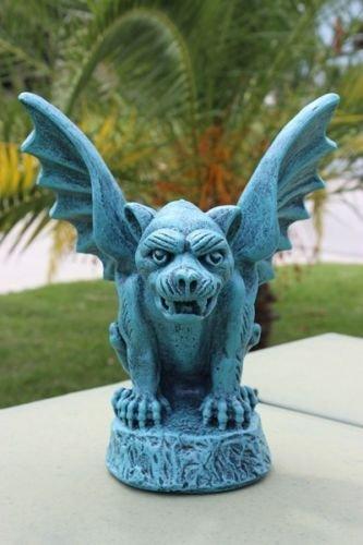 Winged Concrete Gargoyle Outdoor Garden Decor Sculpture Patio Gothic Medievel Guardian Review