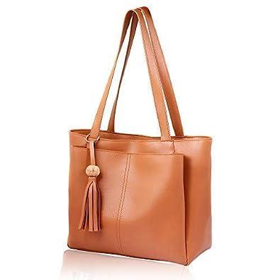 9b8c15b9c8d women marks Women s Tan PU Handbag  Amazon.in  Shoes   Handbags