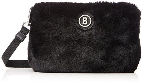 Bogner Femi, Bolsos bandolera Mujer, Schwarz (Black), 3x18x24 cm (B x H T)