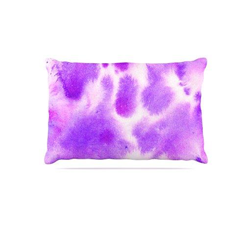 30 by 40\ Kess InHouse Iris Lehnhardt Watercolor Purple  Lavender Fleece Dog Bed, 30 by 40