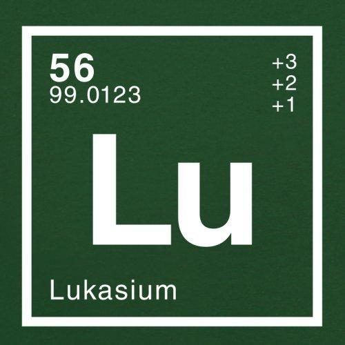 Lukas Periodensystem - Herren T-Shirt - Flaschengrün - M