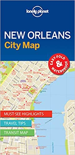 Lonely Planet New Orleans City Map Lonely Planet City Maps ...