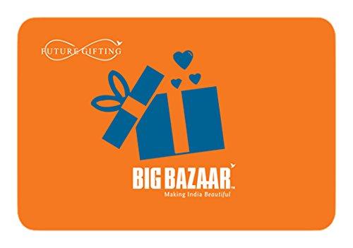 Big Bazaar Gift Card - Rs.1000
