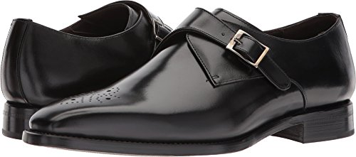 Carlos by Carlos Santana Mens Puente Black Full Grain Box Calf 10.5 D - Medium
