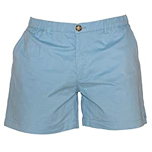 Meripex Apparel Men's 5.5″ Inseam Elastic-Waist Short Shorts 4-Way Stretch
