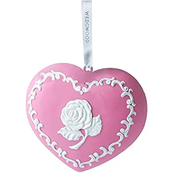 Amazon.com: Waterford Breast Cancer Pink Christmas Ornament: Home ...
