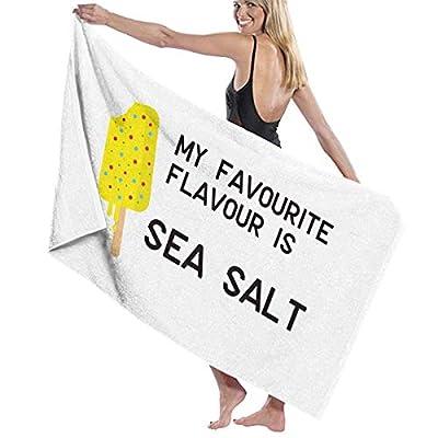 LXXYZ Sea Salt Ice Cream Prints Bath Towel Wrap Womens Spa Shower and Wrap Towels Swimming Bathrobe Cover Up for Ladies