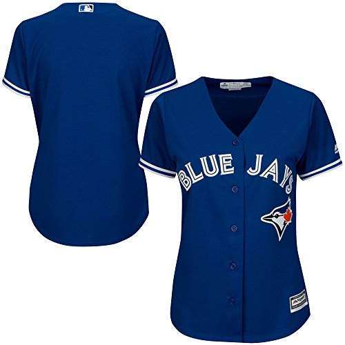 Majestic Toronto Blue Jays MLB Women's Cool Base Alternate Jersey Blue (Plus 3X)