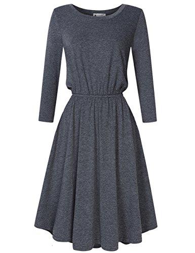 3/4 length dresses - 9