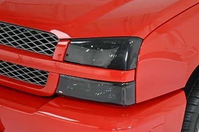 Smoked Headlight Covers (4-piece), Chevrolet Silverado 99-02 / Suburban 00-06 / Tahoe 00-06