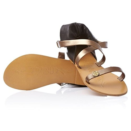 Roma Leather Sandals (5 (UK)) 3Uiaub4