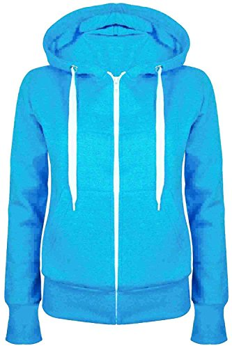 Zip Front Girls Sweatshirt - 9