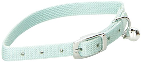 Catit Nylon Adjustable Cat Collar, Blue ()