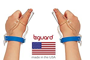 2 Hand Treatment Kit to Stop Thumb Sucking by TGuard brand ThumbGuard (Size Large: Ages 7+)