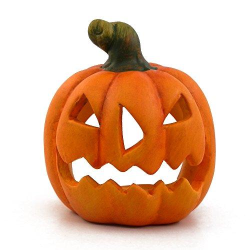 Baidecor Halloween Decoration Pumpkin Tealight Candle (Halloween Tea Light Holder)
