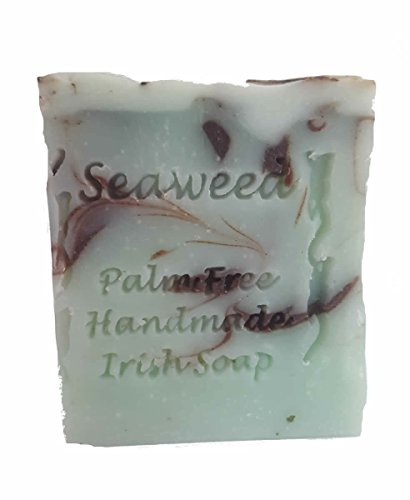 Palm Free Wild Irish Seaweed Infused Soap Bar - Handcrafted in Ireland