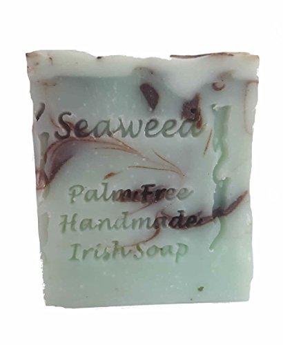 Palm Free Wild Irish Seaweed Infused Soap Bar - Handcrafted in Ireland ()