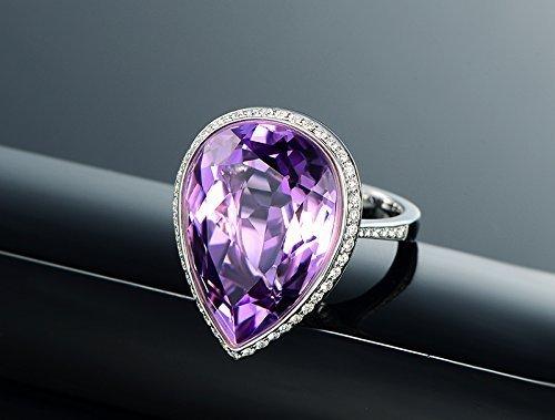 0.45 Ct Pear Diamond - 8
