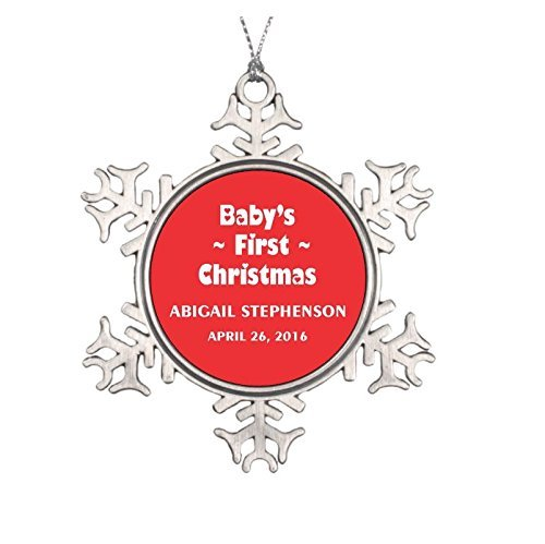 amazon com baby s first christmas ornament personalized my first