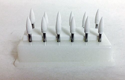 BesQual FL-2 White Abrasive Mounting Points 12/pk