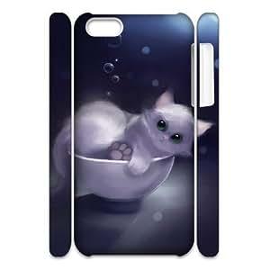 linJUN FENGCell phone Handmade ipod touch 5 3D Bumper Plastic Case Of Cat