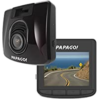 PAPAGO Car Dash Camera GoSafe 350 Full HD Dash Cam 1080P Car DVR, Night Vision, GPS Logging, Free 8GB Micro SD Card GS3508G