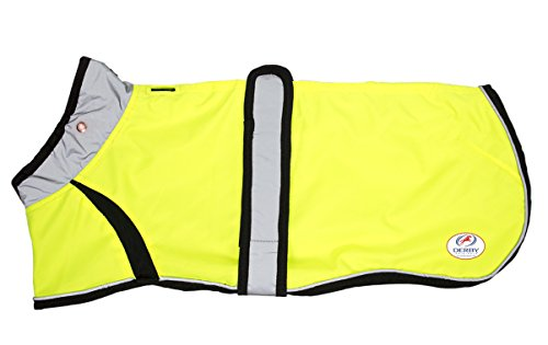 Derby Originals Light Up LED Safety Dog Jacket, Small, Neon Yellow For Sale