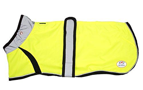 Derby Originals Reflective LED Light Up Safety Waterproof Dog Jacket