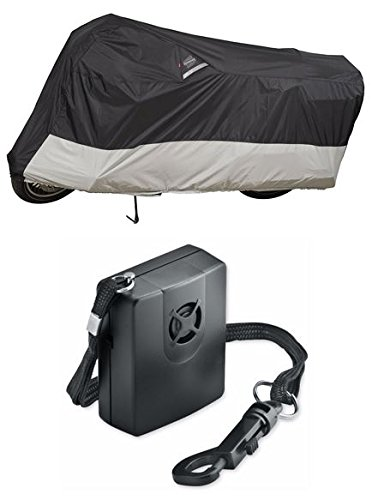 Guardian By Dowco - WeatherAll Plus Motorcycle Cover - XL with Dowco's Integrated 130 Decibel Alarm System (Guardian Cover Motorcycle Dowco Alarm)